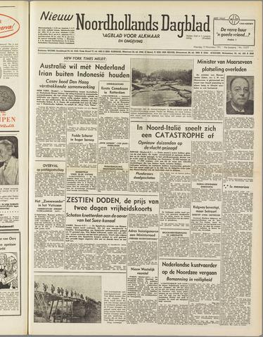 Nieuw Noordhollandsch Dagblad : voor Alkmaar en omgeving 1951-11-19