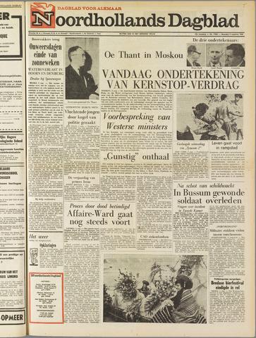 Noordhollands Dagblad : dagblad voor Alkmaar en omgeving 1963-08-05