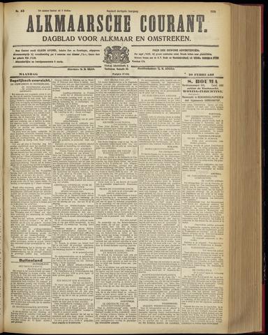 Alkmaarsche Courant 1928-02-20