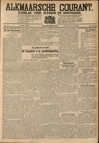Alkmaarsche Courant 1934-05-16