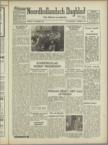 Nieuw Noordhollandsch Dagblad : voor Alkmaar en omgeving 1946-11-08
