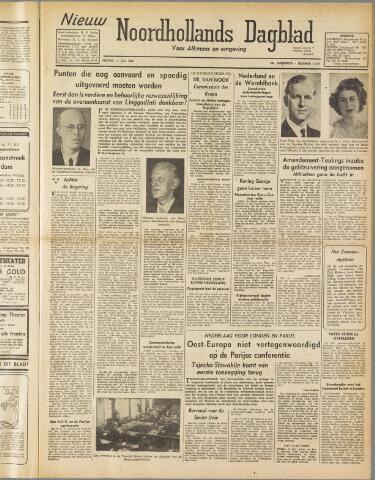 Nieuw Noordhollandsch Dagblad : voor Alkmaar en omgeving 1947-07-11