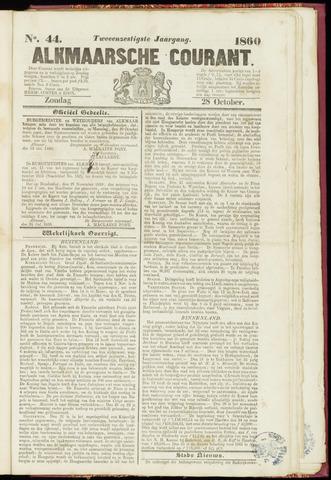 Alkmaarsche Courant 1860-10-28