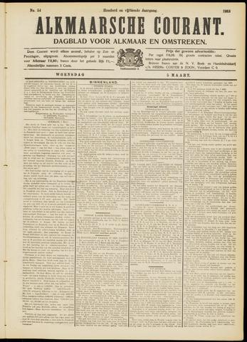 Alkmaarsche Courant 1913-03-05