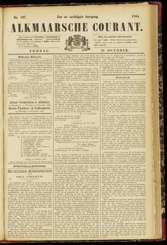 Alkmaarsche Courant 1884-10-24