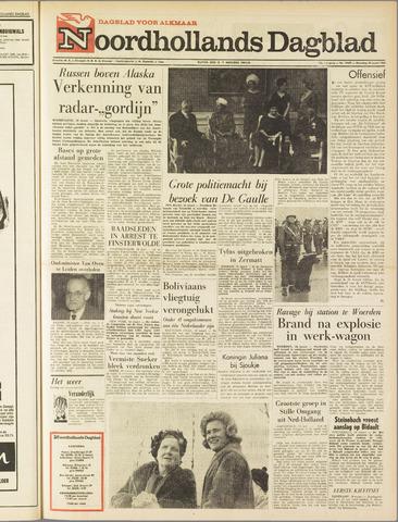 Noordhollands Dagblad : dagblad voor Alkmaar en omgeving 1963-03-18