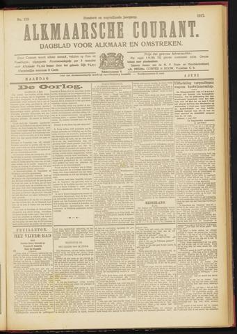 Alkmaarsche Courant 1917-06-04