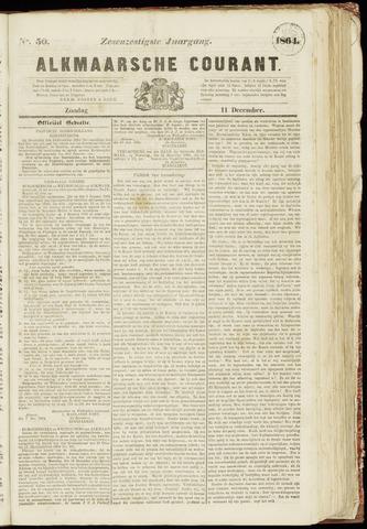 Alkmaarsche Courant 1864-12-11