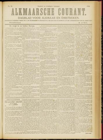 Alkmaarsche Courant 1918-04-24