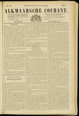Alkmaarsche Courant 1888-02-24