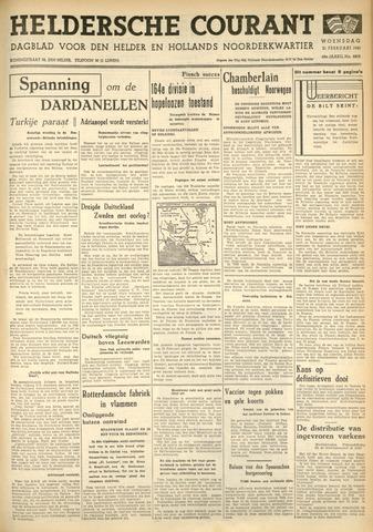 Heldersche Courant 1940-02-21
