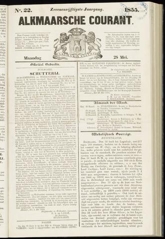 Alkmaarsche Courant 1855-05-28