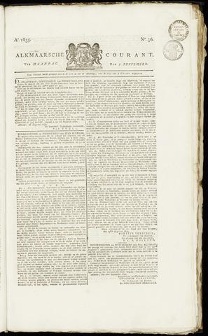 Alkmaarsche Courant 1835-09-07