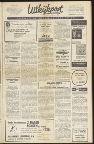 Uitkijkpost : nieuwsblad voor Heiloo e.o. 1969-02-26