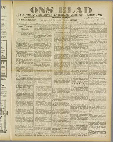 Ons Blad : katholiek nieuwsblad voor N-H 1920-05-01