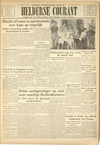 Heldersche Courant 1954-07-07