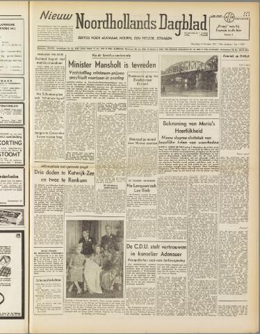 Nieuw Noordhollandsch Dagblad : voor Alkmaar en omgeving 1950-10-23