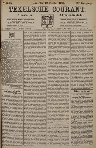 Texelsche Courant 1916-10-12
