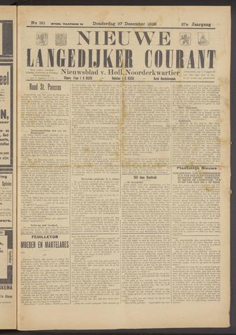 Nieuwe Langedijker Courant 1928-12-27