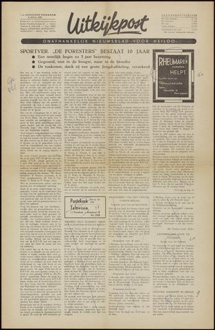 Uitkijkpost : nieuwsblad voor Heiloo e.o. 1956-04-06