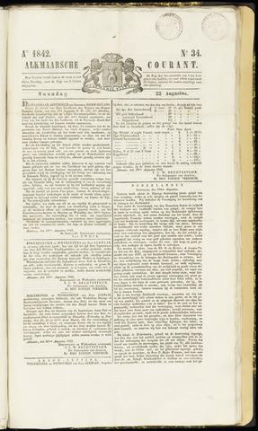 Alkmaarsche Courant 1842-08-22