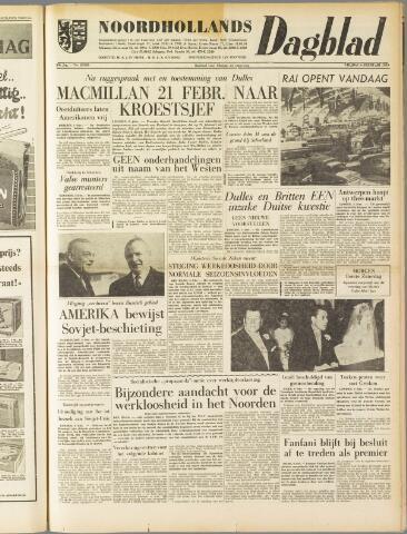 Noordhollands Dagblad : dagblad voor Alkmaar en omgeving 1959-02-06