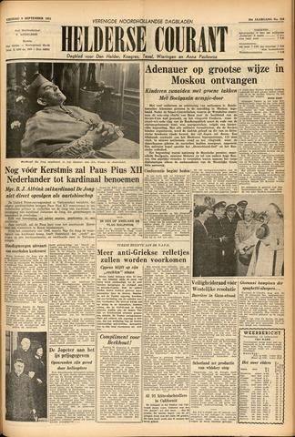 Heldersche Courant 1955-09-09