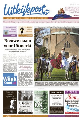 Uitkijkpost : nieuwsblad voor Heiloo e.o. 2009-11-25