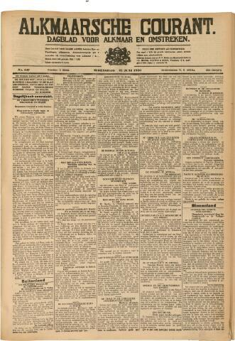 Alkmaarsche Courant 1930-06-25