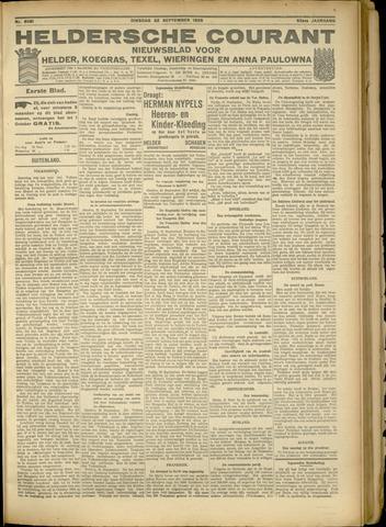 Heldersche Courant 1925-09-22