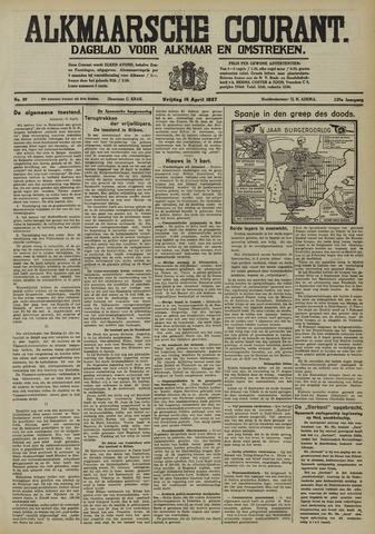 Alkmaarsche Courant 1937-04-16