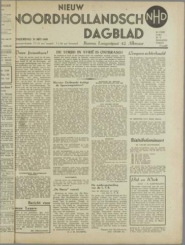 Nieuw Noordhollandsch Dagblad : voor Alkmaar en omgeving 1945-05-31