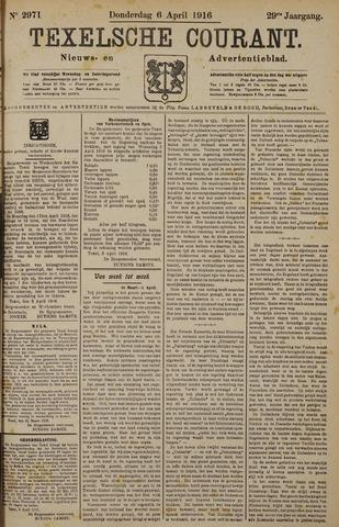Texelsche Courant 1916-04-06