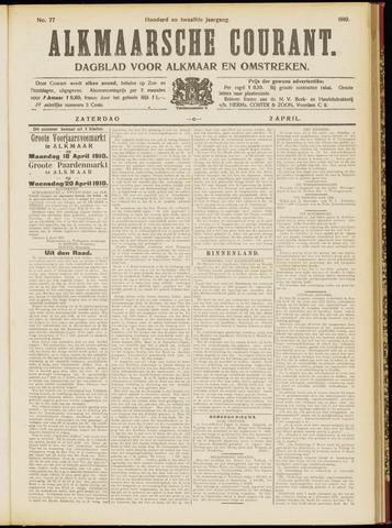Alkmaarsche Courant 1910-04-02