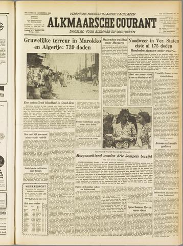 Alkmaarsche Courant 1955-08-22