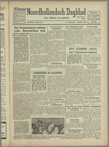 Nieuw Noordhollandsch Dagblad : voor Alkmaar en omgeving 1946-04-15