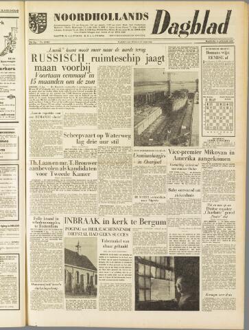 Noordhollands Dagblad : dagblad voor Alkmaar en omgeving 1959-01-05