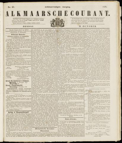 Alkmaarsche Courant 1876-10-22