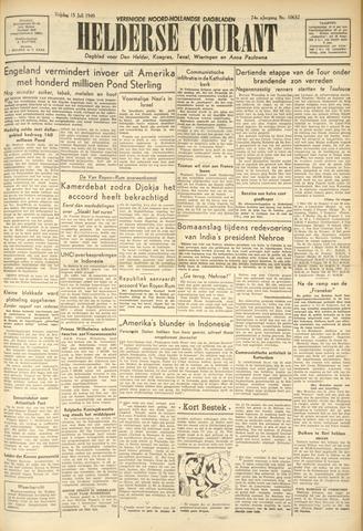 Heldersche Courant 1949-07-15