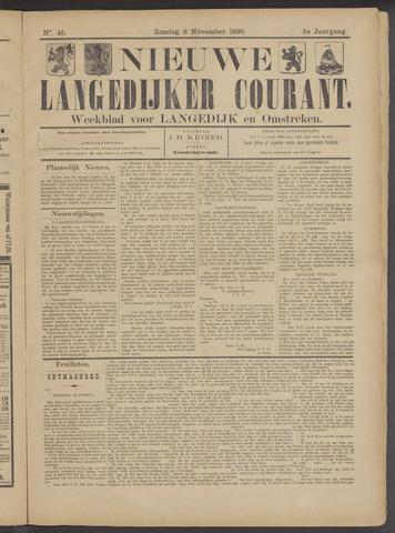 Nieuwe Langedijker Courant 1896-11-08