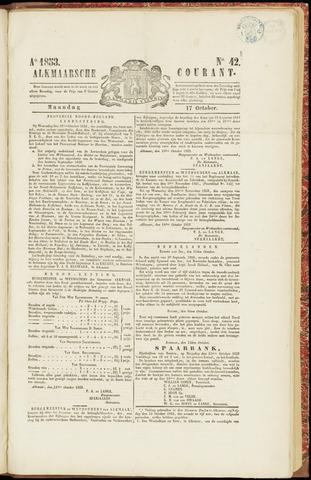 Alkmaarsche Courant 1853-10-17