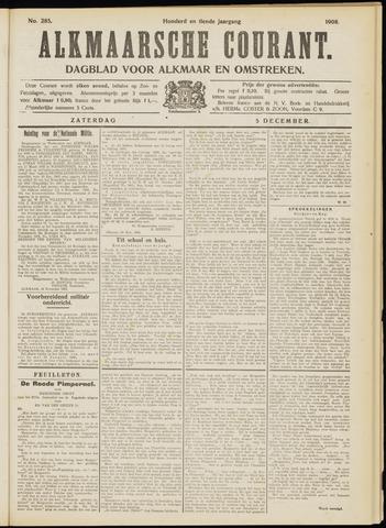 Alkmaarsche Courant 1908-12-05