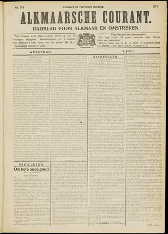 Alkmaarsche Courant 1912-07-03