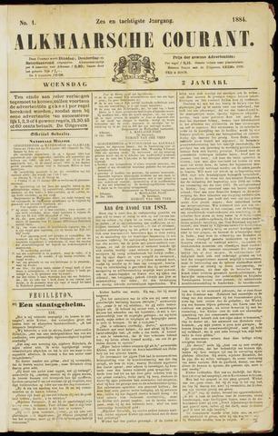Alkmaarsche Courant 1884-01-02