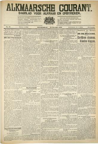 Alkmaarsche Courant 1930-03-27