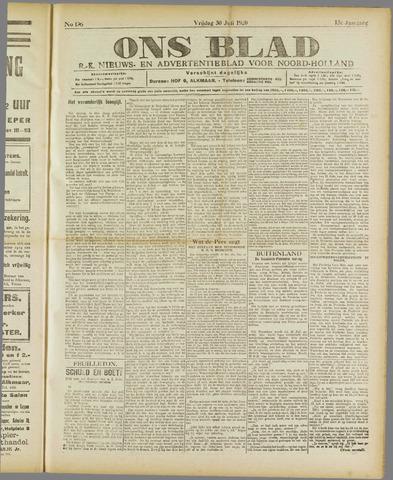 Ons Blad : katholiek nieuwsblad voor N-H 1920-07-30