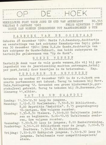 Op De Hoek, weekblad voor Akersloot 1965-01-08