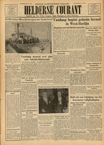 Heldersche Courant 1954-02-08