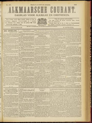 Alkmaarsche Courant 1916-10-19