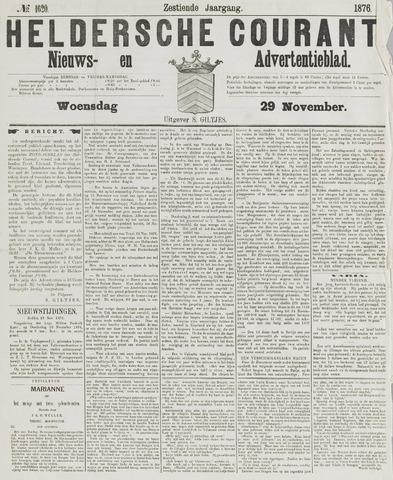 Heldersche Courant 1876-11-29